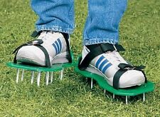 Lawn Aerator Sandals Shoes Air Fertilize Water Yard Equipment Garden Tool New