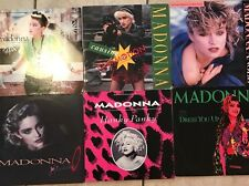 Madonna Early 45 RPM Singles - Original Vinyl Records