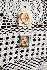 USA Christmas stamps American Lung Association 1983 & Antonello National Gallery