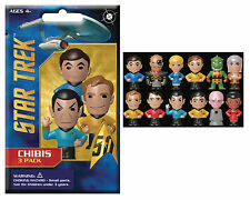 1x Star Trek Chibis 3 Pack Blind Bag