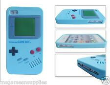 Blue Nintendo Game Boy Gameboy iphone 5 5s Silicone Full Back Case - Brand NEW