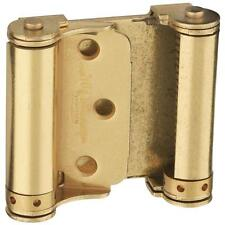 National Hardware V127 3 in. Double-Acting Spring Hinge, Brass