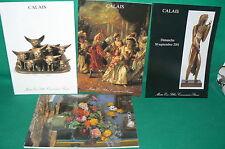 4 catalogues vente aux enchères CALAIS tableaux modernes bronze sculptures (5)