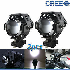 U5 CREE LED Lamp 15W Projector Lens Auxiliary Fog Light For Bajaj Pulsar 220F