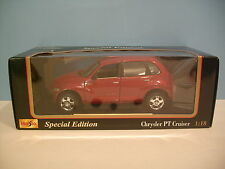 1:18 Scale Maisto Special Edition CHRYSLER PT CRUISER Die-cast Collectible