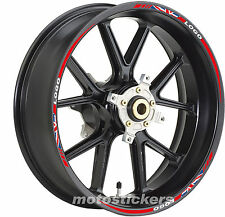 Adesivi Moto - Adesivi cerchi english flag Triumph TIGER 800 XC - stickrs wheels