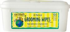 Earth Bath  Wipes Hypo Allergenic DOG 100 ct NEW w/Seal