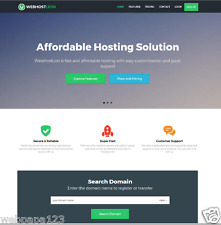 Automated Complete Web Hosting Business With Website Builder, Full Customizable