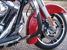 Pro Guards Crash Bar Protectors for Harley Davidson's Touring Baggers BLACK