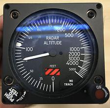 Smiths Industries RAF Avión Cabina indicador de altitud radar