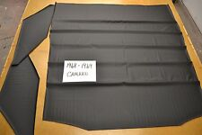 1968 68 1969 69 CAMARO FIREBIRD BLACK TIER GRAIN HEADLINER USA MADE TOP QUALITY