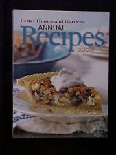 2008 Better Homes and Gardens Annual Recipes Cookbook