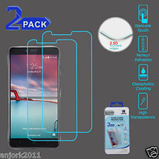 2X PACK 0.3mm 2.5D TEMPERED GLASS SCREEN PROTECTOR FOR ZTE ZMAX PRO Z981 Z962G