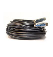 Cordon Cable Ilda 25 M. Sub025  laser ilda noir 25 metres Black