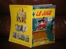 LUCKY LUKE N°13 LE JUGE - EDITION ORIGINALE 1959 (BRUXELLES AU 4e PLAT)