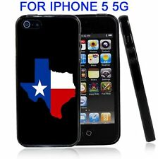 Texas Flag State Shape For Iphone5 5G Case Cover