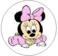 "~BABY MINNIE MOUSE~ 1"" Sticker / Seal Labels!"