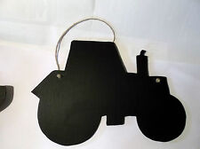 TRACTOR (new shape) chalk board sign farm animal yard farmyard christmas