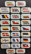 Card Collectors Society Full Repro Set 50 Players Flags Of The League Of Nations
