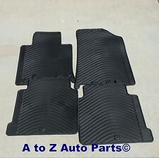 NEW 2015-2016 Hyundai Sonata FRONT & REAR set of All Weather Floor Mats,OEM