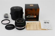 [Exc+++++ in Case] OLYMPUS OM-SYSTEM G.ZUIKO AUTO-W 35mm f/2.8 BOX JAPAN #e310