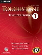 Touchstone Level 1 Teacher's Edition with Assessment Audio CD/CD-ROM by McCarth