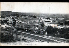 SAINT-CYR (78) WAGON en GARE & ECOLE MILITAIRE en 1925