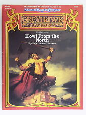 Ad&d 2nd ed greyhawk WGS2 howl from the north module 9337 tsr 13208