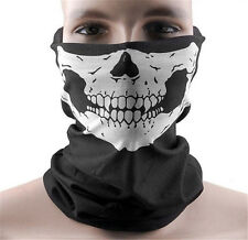 Full Function Skull Face Mask Ski Motorcycle Biker Scarf Snood Neck Bandana Warm