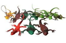 1pc Tricks Toy VIVID Chameleon Lizard Joke Scare Prank Hoax Animal Figure Doll