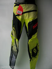 "NEW SCOTT Sz 36"" MOTOCROSS ENDURO PANTS TROUSERS GREEN LANING TRAIL YZ YZF RMZ"