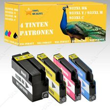 4x Nicht-OEM Tintepatronen alternative für HP OfficeJet 6100 Eprinter 932 933 XL