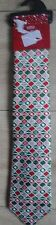 MARKS AND SPENCER MENS NOVELTY CHRISTMAS TIE GREEN MIX BNWT
