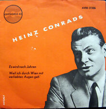 Single / HEINZ CONRADS / AMADEO / AUSTRIA / RARITÄT /