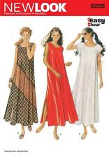 NEW LOOK SEWING PATTERN MISSES' DRESS EASY 2 HOURS  SIZE 8 - 18 6229