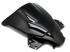 SMOKE BLACK DOUBLE BUBBLE WINDSCREEN WINDSHIELD FOR 2011-2013 HONDA CBR250R