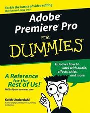 Adobe® Premiere®Pro for Dummies® by Keith Underdahl (2003, Paperback)