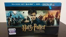 Harry Potter: Hogwarts Complete Collection Series (Blu-Ray + DVD 31 Discs) NEW