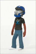 Halo Avatar Series 2 Figure by McFarlane - Blue JFO Helmet and Noble Team Tee