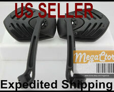 Honda Ruckus Mirrors 10mm - Motorcycle Scooter Moped Bobber 80's 80s NPS 50