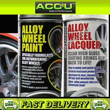 E-Tech Professional GREY Car Alloy Wheel Spray Paint Lacquer Refurbishment Deal