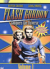 Flash Gordon Conquers The Universe, Vol. 1, Excellent DVD, Shirley Deane, Ben Ta