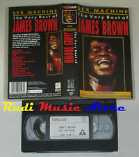 VHS JAMES BROWN SEX MACHINE very best of 1988 KARUSSELL 90 min cd mc dvd lp(VM1)