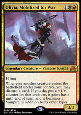 OLIVIA MOBILIZED FOR WAR NM mtg Shadows Over Innistrad Gold - Vampire Mythic