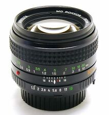 50mm f/1.2 Minolta MD Rokkor, Minolta MD mount MINT-