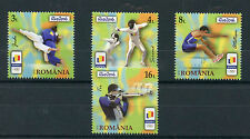 Romania 2016 MNH Summer Olympic Games Rio 2016 4v Set Judo Olympics Stamps
