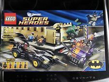 LEGO 6864 BATMAN BATMOBILE AND THE TWO FACE CHASE BOXED WITH MINIFIGS