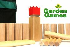 Hardwood Kubb Set - The Viking Chess Game For All The Family