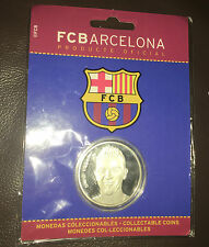 David villa coin football fcb barcelone scellé diamètre 4cm
