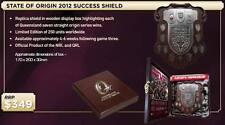 QUEENSLAND S.O.O 2012 SUCCESS SHEILD UNSIGNED IN BOX - UNFRAMED